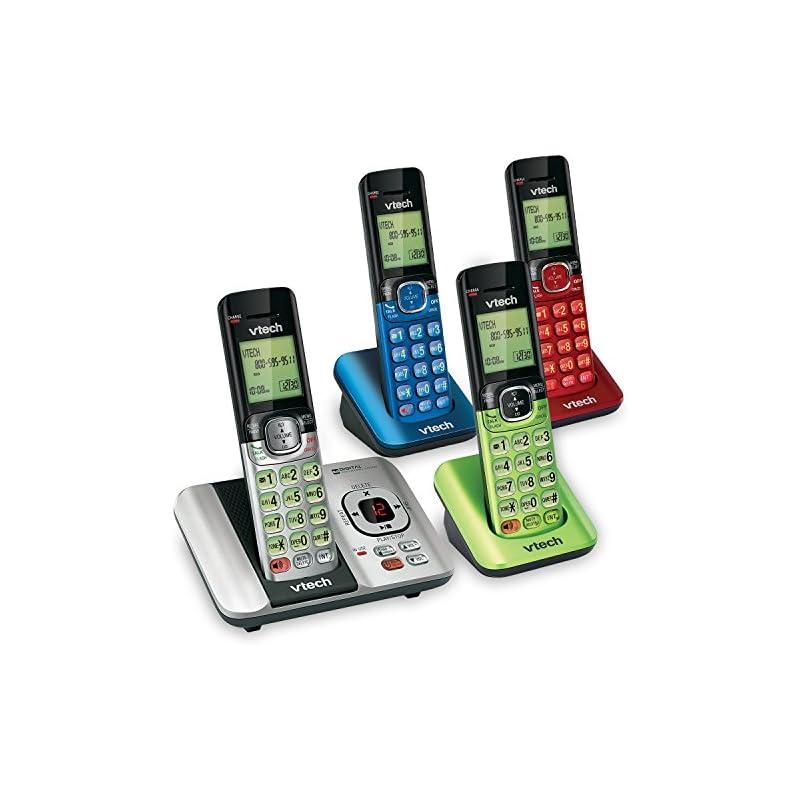 VTech CS6529-4B 4-Handset DECT 6.0 Cordl