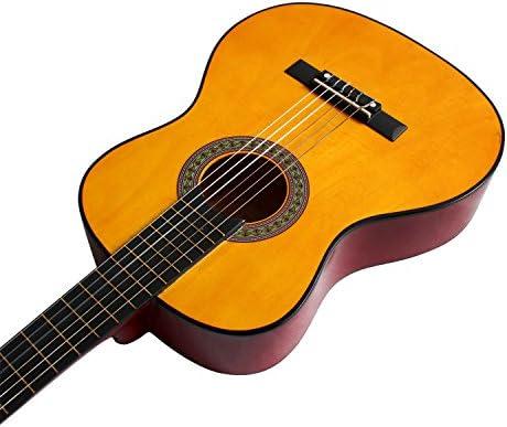 YMC guitarra clásica 1/2 tamaño 34 pulgadas cuerdas de nailon ...