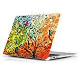 YMIX  Plastic Cover Snap on Hard Protective Case for MacBook Pro 13' Retina NO CD-ROM (A1502 & A1425) , #Birds in Spring