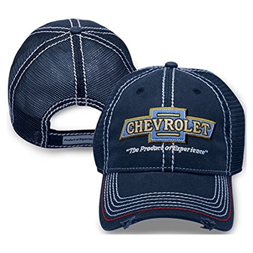 Chevrolet Vintage Hat (Navy)  One - Chevy Baseball Cap