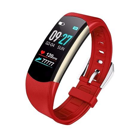 ACEBABY Reloj Inteligente de Pulsera, Pulsera de Actividad física con Pantalla Pulsera Actividad,Monitor