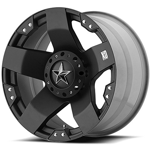 XD-Series Rockstar XD775 Matte Black Wheel (18x9