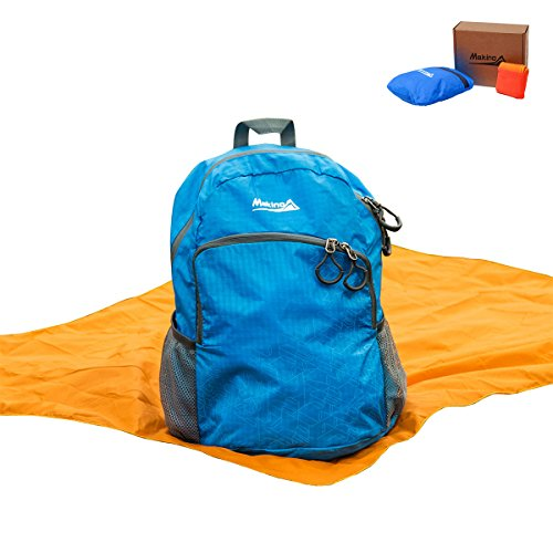MAKINO Ultralight Foldable Backpack Outdoor Waterproof Camping Daypack 22L