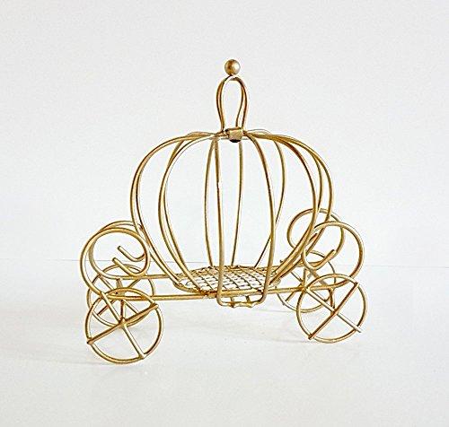 Small Metal Gold Cinderella Pumpkin Carriage Favor (Cinderella Pumpkin Carriage)