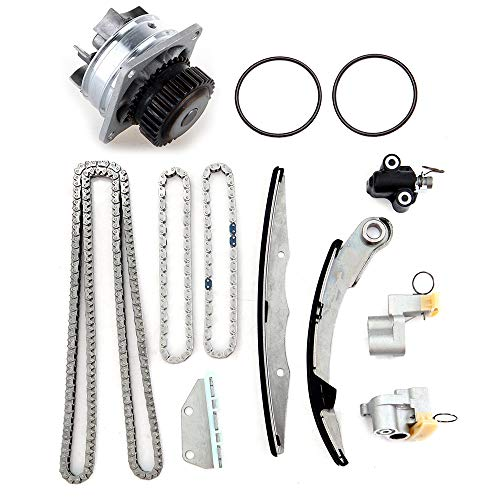 OCPTY Engine Timing Part AW9426 Timing Chain kit Water Pump Fit for 2005 2006 2007 2008 2009 Nissan Pathfinder 2006 2007 2008 2009 Nissan Frontier 2005 2006 2007 2008 2009 Nissan Xterra