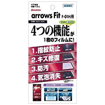 0d86d4bdbc Amazon   ASDEC アスデック AFP画面保護フィルム AFP-F01H (M02, RM02 ...