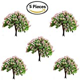 Buytra 5-Piece Miniature Fairy Garden Tree Plant Ornament