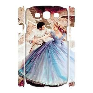 LSQDIY(R) cinderella Samsung Galaxy S3 I9300 3D Cover Case, DIY Samsung Galaxy S3 I9300 3D Case cinderella