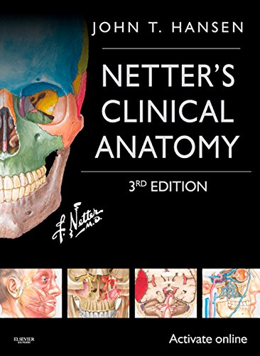 Netter's Clinical Anatomy (3rd 2014) [Hansen]