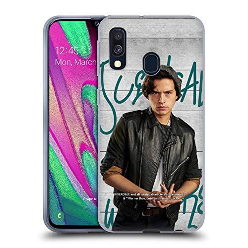 Head Case Designs Oficial Riverdale Jughead Jones 3 Carteles Carcasa de Gel de Silicona Compatible con Samsung Galaxy A40 (2019)