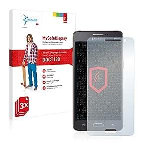 3x Vikuiti MySafeDisplay Protector de Pantalla DQCT130 de 3M para Samsung Galaxy Grand Prime SM-G531F