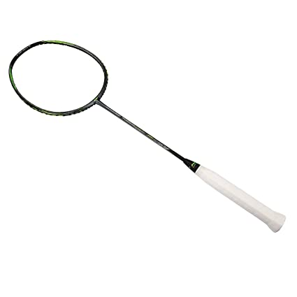 LI NING 2018 Badminton Racket 3D Calibar 900C Black Combat Type Badminton Racquet Badminton