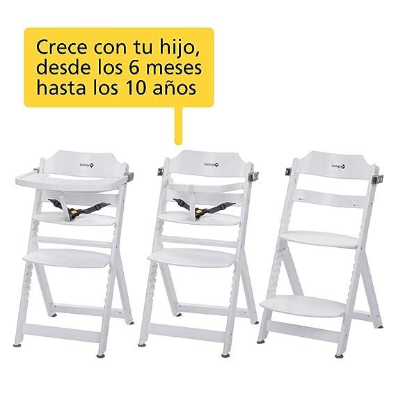 Safety 1st, trona, madera de haya 6 mesi-10 anos, blanco