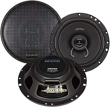 Crunch Dsx 62 Lautsprecher Für Vw Golf 4 Bj 1997 2003 Elektronik