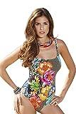 Furstenberg Scoop Neck European Made Designer Women's One Piece Bathing Suit Swimsuit