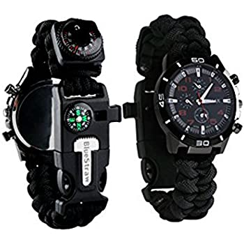 Amazon.com : FireLine 22mm Paracord Watchband by Tactical