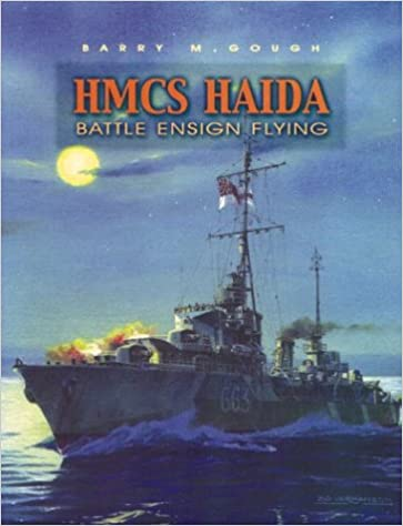 HMCS Haida, Battle Ensign Flying: Canada's Famous Tribal