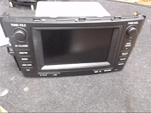 トヨタ 純正 マークXジオ A10系 《 ANA10 》 マルチモニター P90200-18004045 B07CG3Q74C