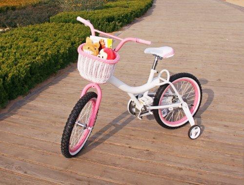 Colorbasket 01273 Kid S Front Handlebar Bike Basket White With