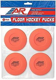 A&R Sports Floor Hockey Pucks, 4