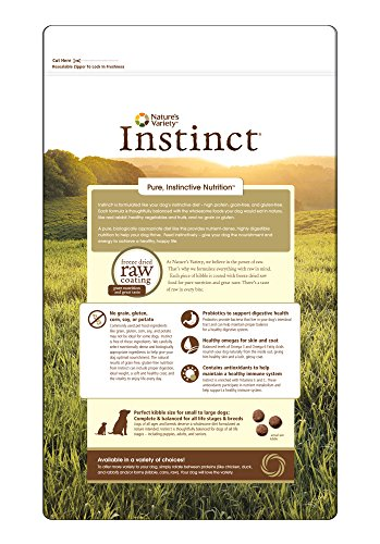 Nature S Variety Instinct Grain Free Rabbit Meal Formula Dry Dog Food