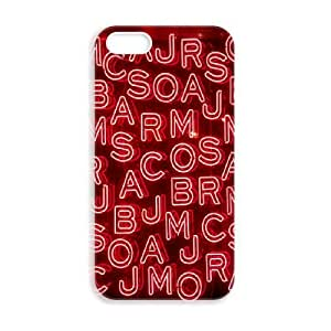 JiHuaiGu (TM) iPhone 5 5s funda MARC JACOBS personalizado temático iPhone 5 5s funda OK4867