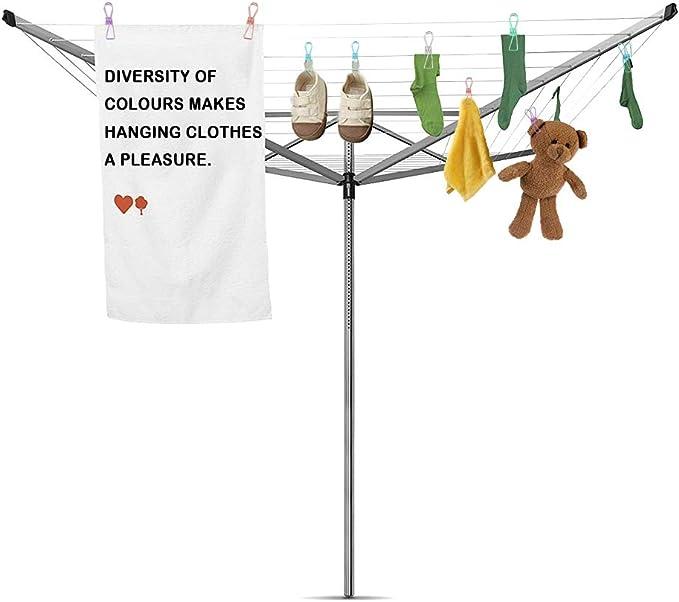 3 tama/ños, 5 Colores l/ínea de Ropa de Camping Coloridas Pinzas para Ropa de Lavado Bolsas de Alimentos Fotos y m/ás iBayx 30 Piezas de Pinzas de Metal para Ropa