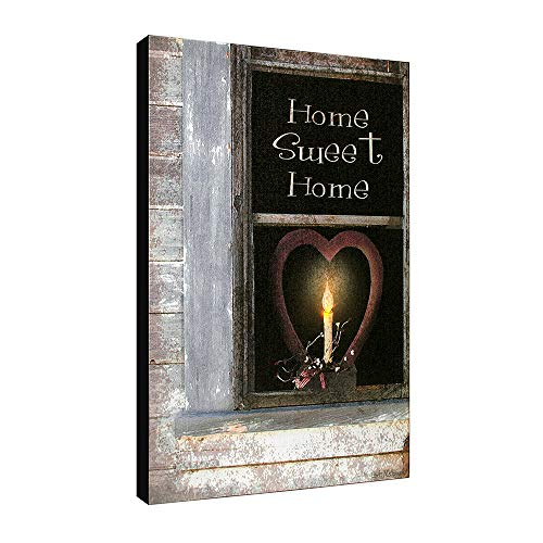 Ohio Wholesale Radiance Lighted Home Sweet Home Canvas Wall Art, from our Everyday Collection (Home Art Lighted Wall)