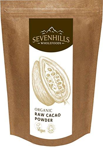 Sevenhills Wholefoods Roh Kakaopulver Bio 1kg