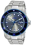Invicta Men's 15077 Pro Diver Analog Display Japanese Quartz Silver Watch