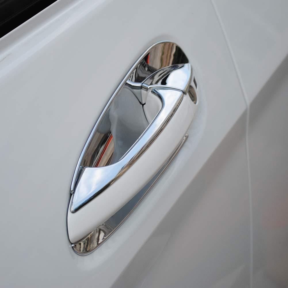 poign/ée de porte ext/érieure couvercle de porte bol cadre de cadre couvercle de poign/ée de porte autocollant protecteur pour A B C classe 2008-201 Garniture de couvercle de poign/ée de porte de voiture