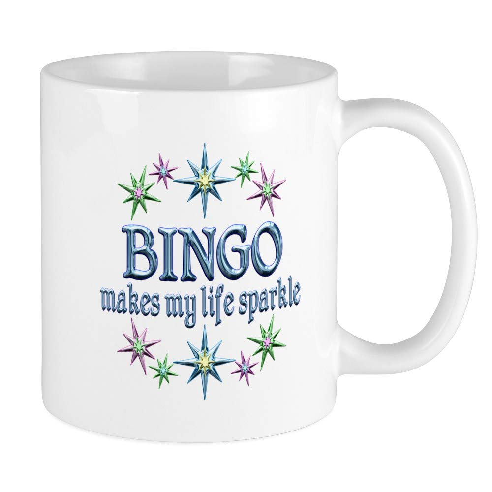 CafePress Bingo Sparkles Mug Unique Coffee Mug, Coffee Cup by CafePress