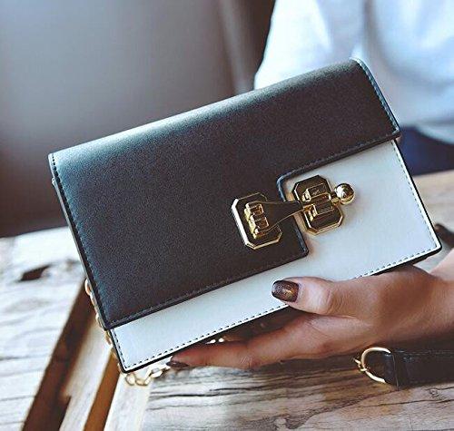 Tide Sacs La MDRW Bandoulière Femmes Black Personnalité De Mode Sac Style Seule À En De Rectangle Main Chaîne La New Épaule qvZdvC