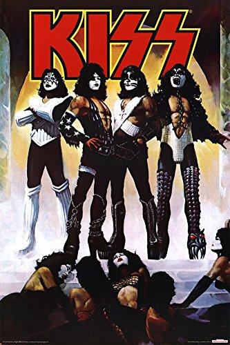 AQUARIUS Kiss Poster Print 36 Inch product image