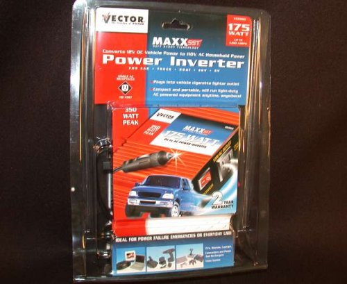 Vector VEC060 Power Inverter 175 350 Watt DC AC NEW