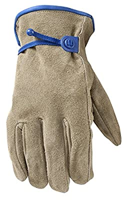 Wells Lamont Suede Cowhide HydraHyde Leather Work Gloves