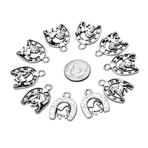 Buy horseshoe charms bulk