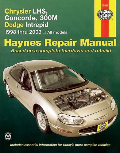 Chrysler LHS, Concorde, 300M & Dodge Intrepid, 1998-2003 (Haynes Repair Manuals)