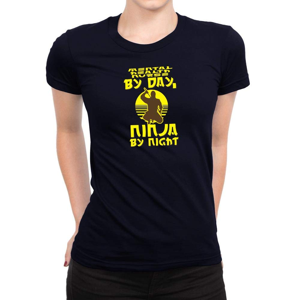 Amazon.com: Idakoos Mental Health Nurse by Day, Ninja by ...