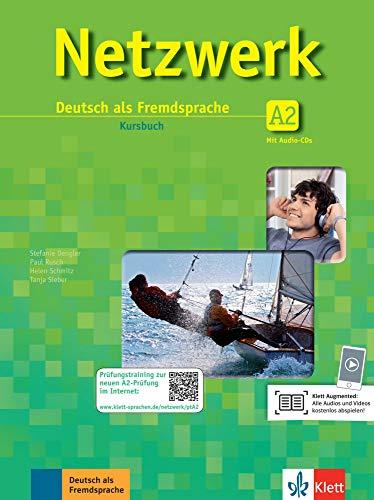 Netzwerk A2 - Kurs und Arbeitsbuch mit Audio-CDs