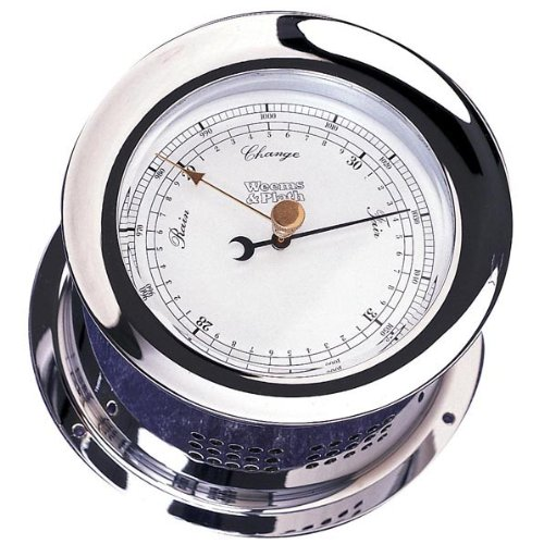 Weems & Plath Chrome Plated Atlantis Barometer