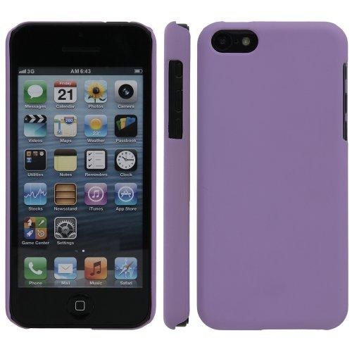 Kunststoffhülle Hülle für Apple iPhone 5C / 5 C, Lila, Hardcase, Kunststoff, Schutzhülle, Handyhülle, Handyschale, Schale