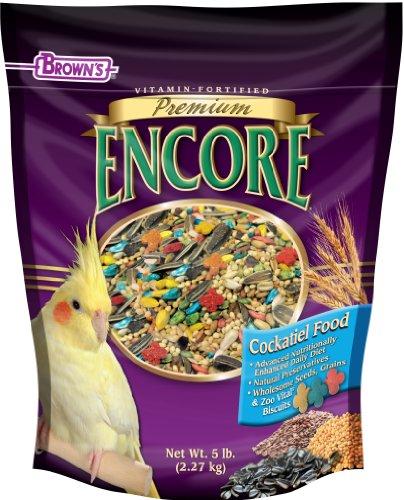 F.M. Brown's Encore Cockatiel Food, 5-Pound