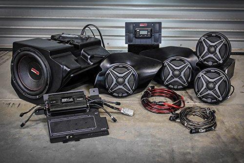 Polaris RZR XP 1000 complete SSV Works 5 speaker Plug-and-Play system