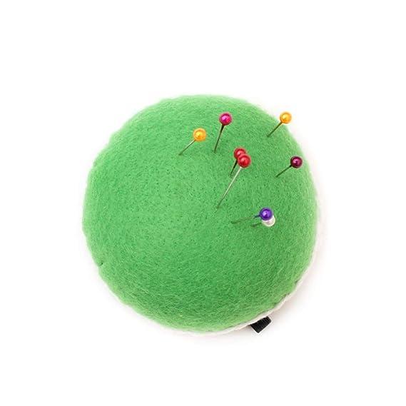 Bonito alfiler de muñeca con diseño de cuadros verdes para ...