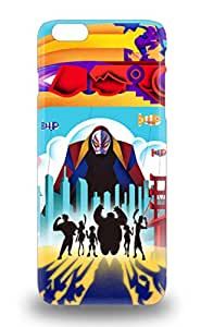 Iphone Anti Scratch 3D PC Soft Case Cover Protective Disney Big Hero 6 3D PC Soft Case For Iphone 6 Plus ( Custom Picture iPhone 6, iPhone 6 PLUS, iPhone 5, iPhone 5S, iPhone 5C, iPhone 4, iPhone 4S,Galaxy S6,Galaxy S5,Galaxy S4,Galaxy S3,Note 3,iPad Mini-Mini 2,iPad Air )