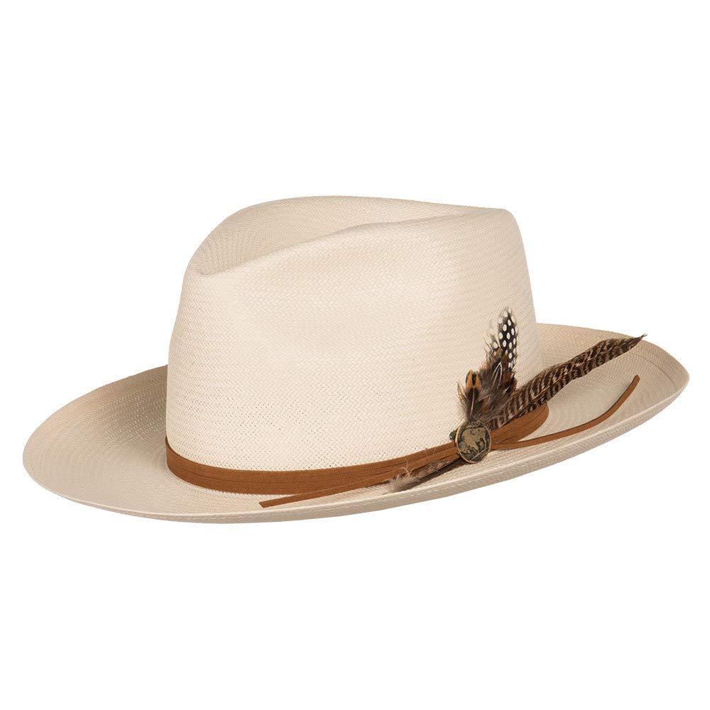 Stetson Hats Womens Tallahassee Shantung 3 Brim 63/4 Ivory