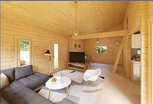 Allwood Avalon Cabin Kit | 540 SQF + Loft (Triple Glass Windows and Doors)