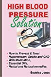 HIGH BLOOD PRESSURE SOLUTION: How to Prevent and