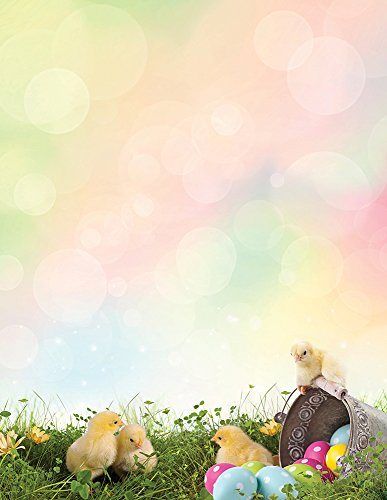 Chick Announcement - Great Papers! Easter Chicks Letterhead, 8.5